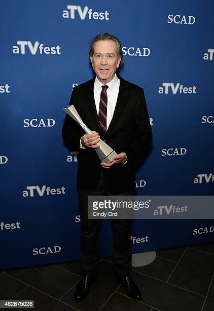 Actor Timothy Hutton attends the Icon Award Presentation during aTVfest presented by SCAD on February 6 2015 in Atlanta Georgia