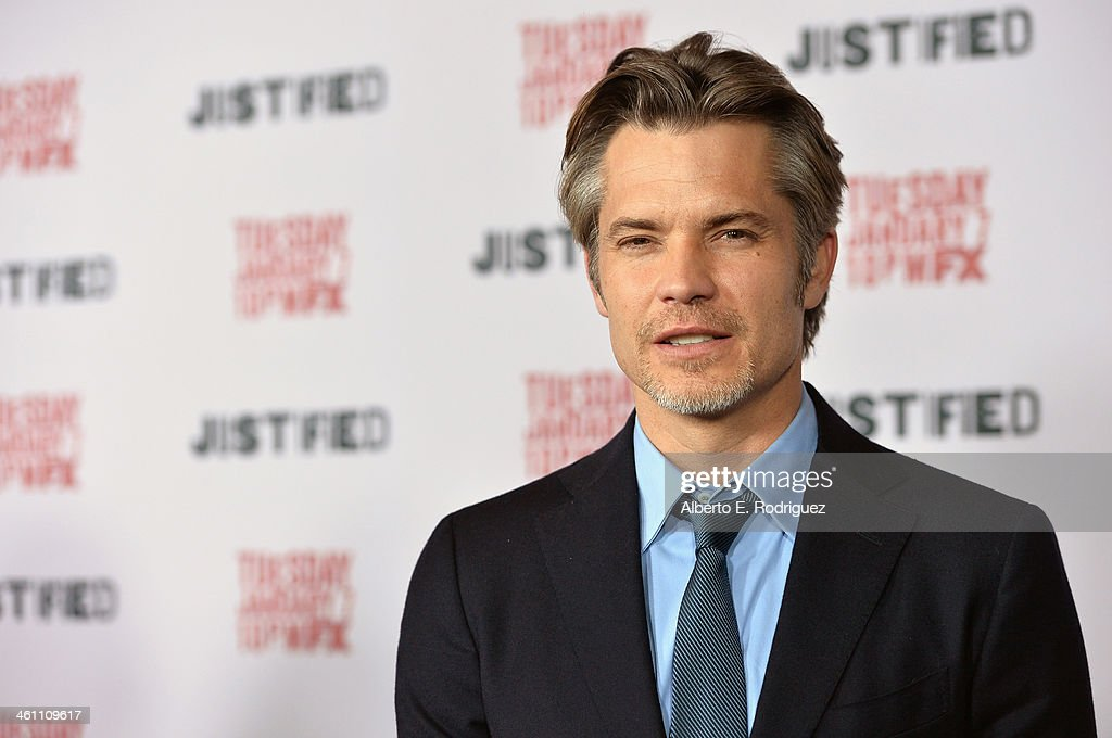 "Premiere Screening Of FX's ""Justified"" Season 5 - Arrivals : News Photo"