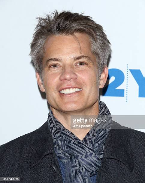 Actor Timothy Olyphant attends a conversation with Vanity Fair's Mike Hogan at Kaufman Concert Hall on March 19 2018 in New York City