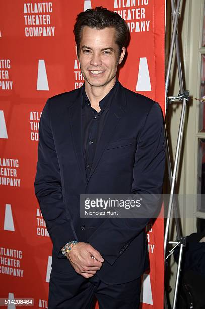 Actor Timothy Olyphant attends the 2016 Atlantic Theater Company Actors' Choice Gala at The Pierre Hotel on March 7 2016 in New York City