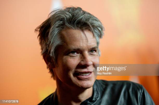 Actor Timothy Olyphant attends the Missing Link New York Premiere at Regal Cinema Battery Park on April 07 2019 in New York City