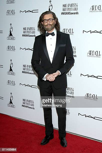 Actor Timothy Omundson arrives at the MakeUp Artists and Hair Stylists Guild Awards at Paramount Studios on February 20 2016 in Hollywood California