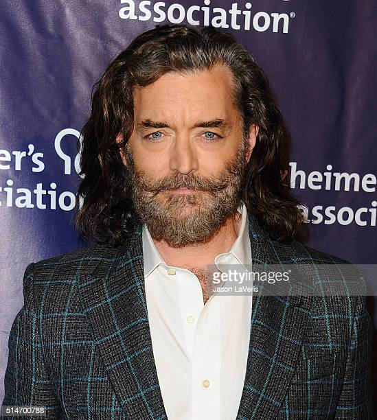 Actor Timothy Omundson attends the 2016 Alzheimer's Association's 'A Night At Sardi's' at The Beverly Hilton Hotel on March 9 2016 in Beverly Hills...