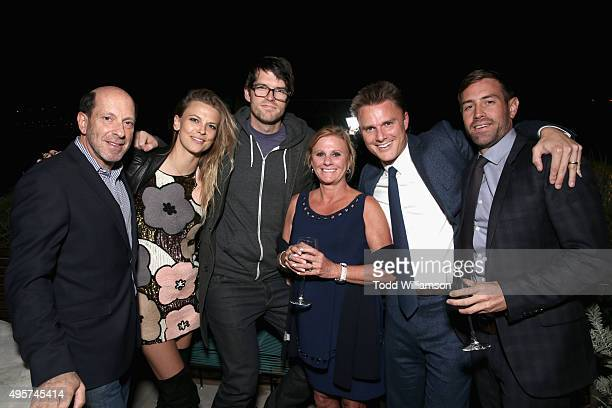 Actor Timothy Simons and manager Ben Curtis and guests attend The Hollywood Reporter Next Gen 2015 Celebration on November 4 2015 in Los Angeles...