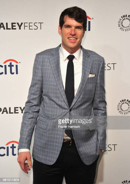 Actor Timothy Simons arrives at The Paley Center For Media's PaleyFest 2014 Honoring 'Veep' at Dolby Theatre on March 27 2014 in Hollywood California