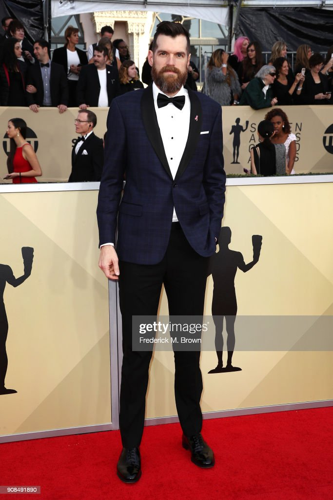 Actor Timothy Simons attends the 24th Annual Screen Actors Guild Awards at The Shrine Auditorium on January 21, 2018 in Los Angeles, California. 27522_017