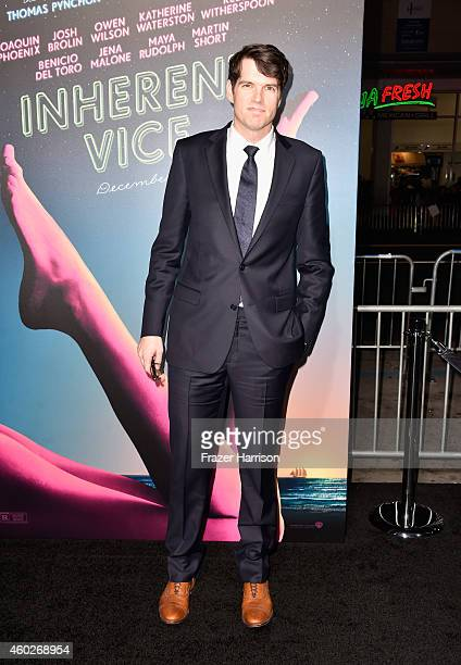 Actor Timothy Simons attends the premiere of Warner Bros Pictures' 'Inherent Vice' at TCL Chinese Theatre on December 10 2014 in Hollywood California