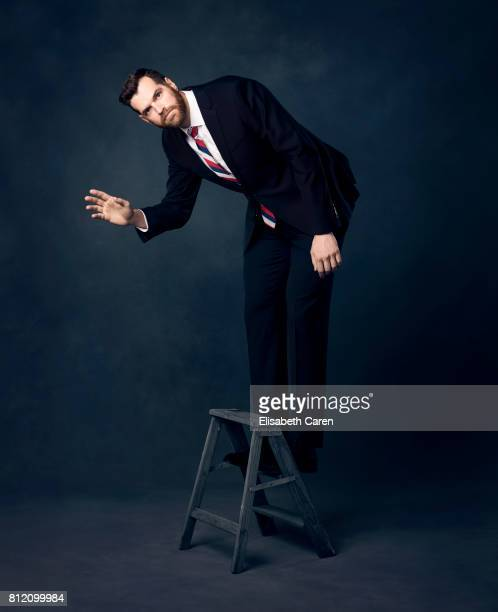 Actor Timothy Simons from HBO's 'Veep' is photographed for The Wrap on April 25, 2017 in Los Angeles, California.