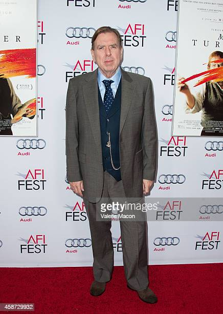 Actor Timothy Spall arrives at AFI FEST 2014 Presented By Audi Special Screening Of Mr Turner at the Egyptian Theatre on November 9 2014 in Hollywood...