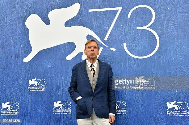 Actor Timothy Spall attends a photocall for 'The Journey' during the 73rd Venice Film Festival at Palazzo del Casino on September 7 2016 in Venice...