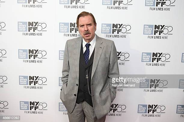 Actor Timothy Spall attends the Mr Turner premiere during the 52nd New York Film Festival at Alice Tully Hall on October 3 2014 in New York City