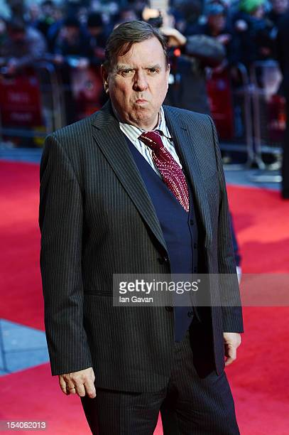Actor Timothy Spall attends the premiere of 'Ginger and Rosa' during the 56th BFI London Film Festival at Odeon West End on October 13 2012 in London...