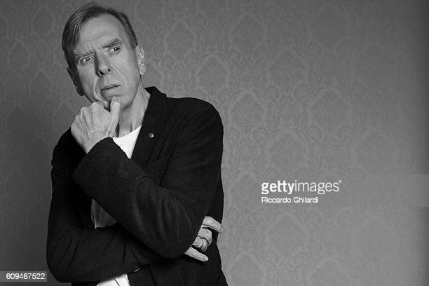 Actor Timothy Spall is photographed for Self Assignment on September 7 2016 in Venice Italy