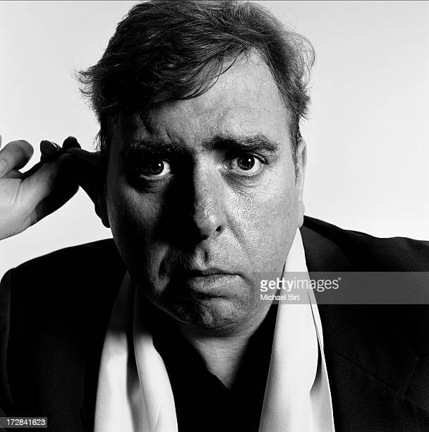 Actor Timothy Spall is photographed for Talk magazine on February 27 2001 in London England