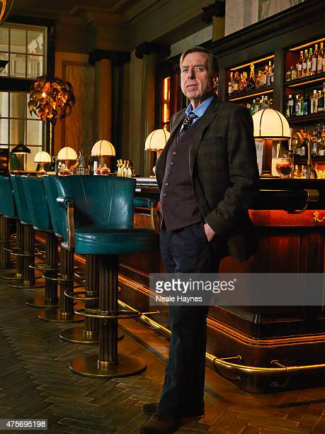 Actor Timothy Spall is photographed for the Times on April 7 2015 in London England