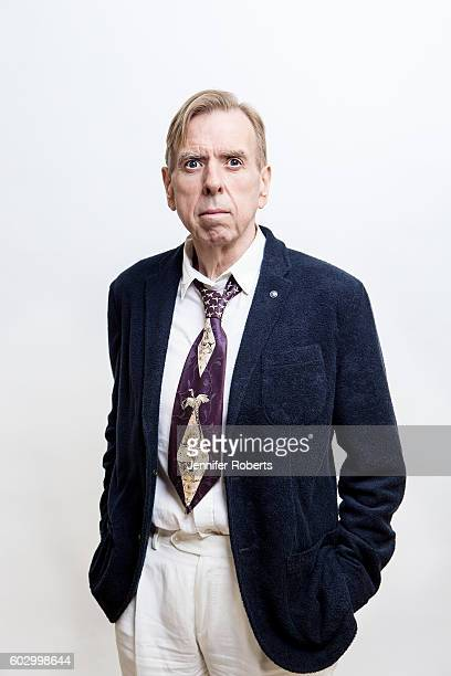 Actor Timothy Spall of 'Denial' poses for a portraits at the Toronto International Film Festival on September 11 2016 in Toronto Ontario