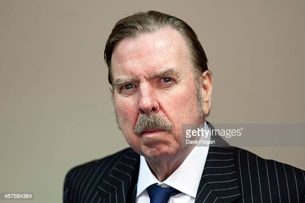 Actor Timothy Spall poses in the portrait studio at the BFI London Film Festival 2014 on October 10 2014 in London England