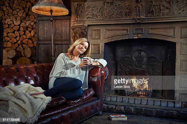 Actor Tina Hobley is photographed for the Telegraph on October 1 2015 in Cirencester England