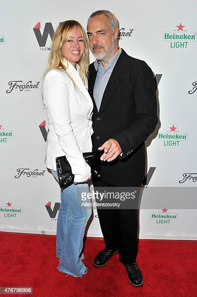 Actor Titus Welliver and Jose Stemkens arrive at TheWrap's 2nd Annual Emmy Party at The London Hotel on June 11 2015 in West Hollywood California