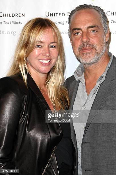 Actor Titus Welliver and Jose Stemkens attend the United Friends of the Children's 12th annual Brass Ring Awards dinner at The Beverly Hilton Hotel...