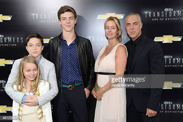 Actor Titus Welliver attends the New York Premiere of Transformers Age Of Extinction at the Ziegfeld Theatre on June 25 2014 in New York City