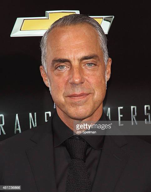 """Actor Titus Welliver attends the """"Transformers: Age Of Extinction"""" New York Premiere at the Ziegfeld Theater on June 25, 2014 in New York City."""