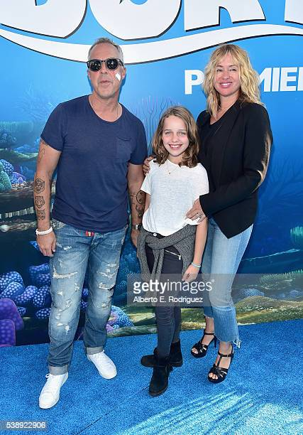 Actor Titus Welliver guest and Jose Stemkens attend The World Premiere of DisneyPixar's FINDING DORY on Wednesday June 8 2016 in Hollywood California