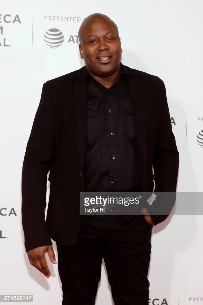 Actor Tituss Burgess attends the premiere of 'The Unbreakable Kimmy Schmidt' during the 2017 Tribeca Film Festival at Borough of Manhattan Community...