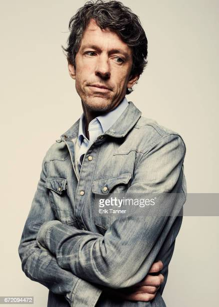 Actor TJ Bowen from 'A Thousand Junkies' poses at the 2017 Tribeca Film Festival portrait studio on April 23 2017 in New York City