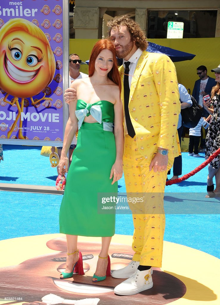 Premiere Of Columbia Pictures And Sony Pictures Animation's 'The Emoji Movie' - Arrivals : News Photo
