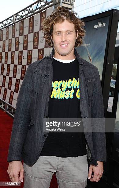 Actor TJ Miller arrives at the premiere of 'Seeking a Friend for the End of the World' at the 2012 Los Angeles Film Festival held at Regal Cinemas LA...