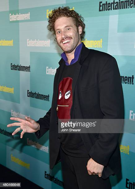 Actor TJ Miller attends Entertainment Weekly's ComicCon 2015 Party sponsored by HBO Honda Bud Light Lime and Bud Light Ritas at FLOAT at The Hard...