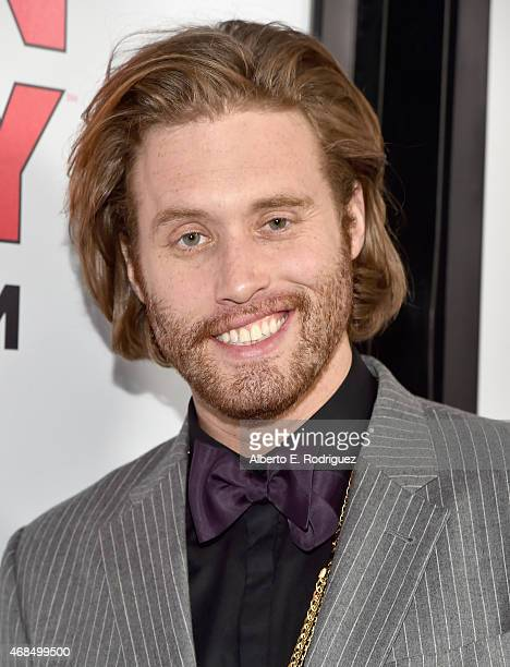 Actor TJ Miller attends the premiere of HBO's Silicon Valley 2nd Season at the El Capitan Theatre on April 2 2015 in Hollywood California