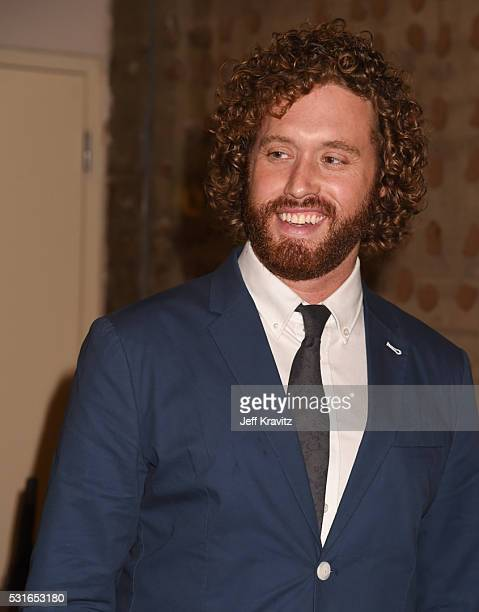 Actor TJ Miller attends the 'Silicon Valley' FYC Panel at Linwood Dunn Theater on May 15 2016 in Los Angeles City