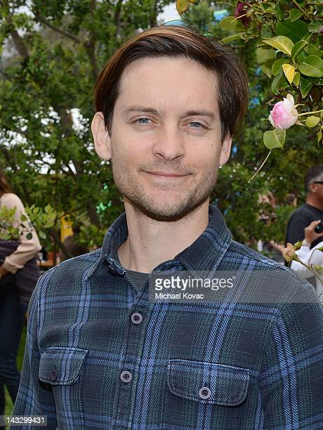 Actor Tobey Maguire attends the Children Mending Hearts 4th Annual Spring Benefit on April 22 2012 in Pacific Palisades California