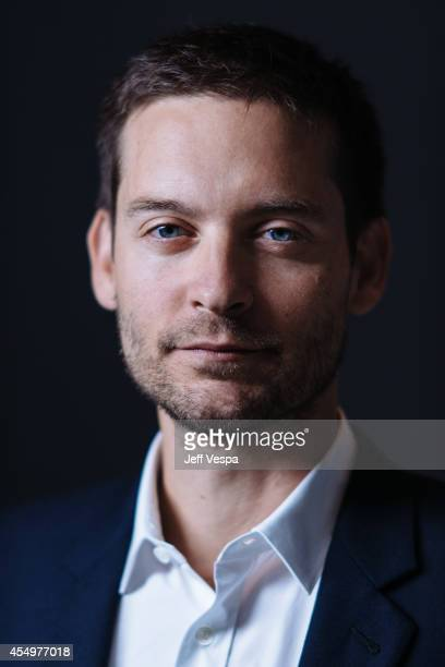 Actor Tobey Maguire is photographed for a Portrait Session at the 2014 Toronto Film Festival on September 7 2014 in Toronto Ontario