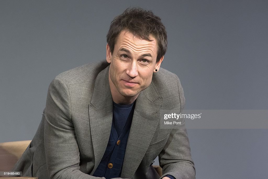 Actor Tobias Menzies attends Apple Store Soho Presents Meet the Cast: 'Outlander' at Apple Store Soho on April 6, 2016 in New York City.