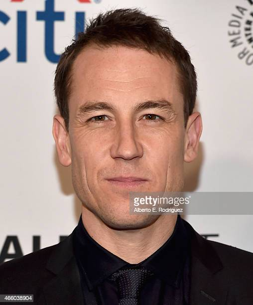 Actor Tobias Menzies attends The Paley Center for Media's 32nd Annual PALEYFEST LA Outlander at Dolby Theatre on March 12 2015 in Hollywood California