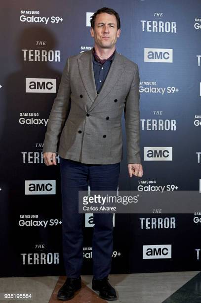 Actor Tobias Menzies attends 'The Terror' premiere at the Philips Gran Via Theater on March 20 2018 in Madrid Spain