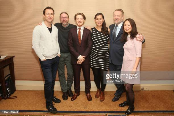 Actor Tobias Menzies executive producer/coshowrunner David Kajganich actors Adam Nagaitis Nive Nielsen Jared Harris and executive...