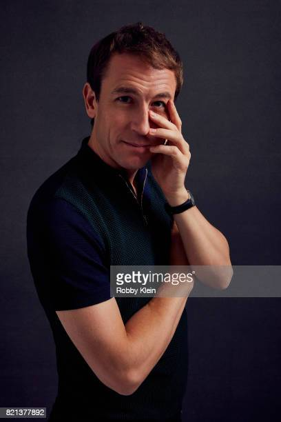 Actor Tobias Menzies from Starz' 'Outlander' poses for a portrait during ComicCon 2017 at Hard Rock Hotel San Diego on July 21 2017 in San Diego...
