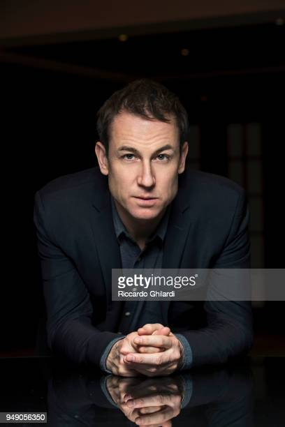 Actor Tobias Menzies poses for a portrait during the 68th Berlin International Film Festival on February 2018 in Berlin Germany