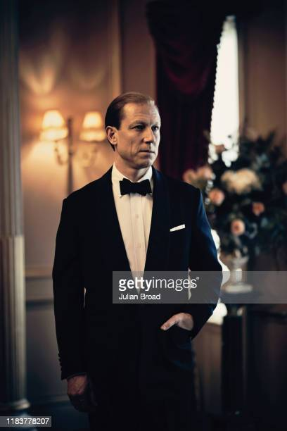 Actor Tobias Menzies who plays Prince Philip, Duke of Edinburgh in the Netflix series The Crown, is photographed for EW magazine on February 7, 2019...