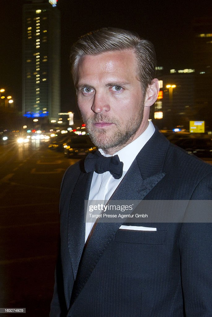 Actor Tobias Santelmann attends the 'Kon-Tiki' Premiere at Kino International on March 6, 2013 in Berlin, Germany.