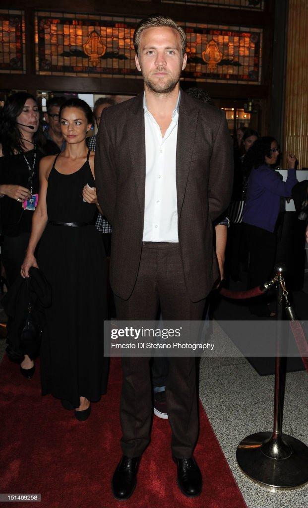 Actor Tobias Santelmann attends the 'Kon-Tiki' premiere during the 2012 Toronto International Film Festival on September 7, 2012 in Toronto, Canada.