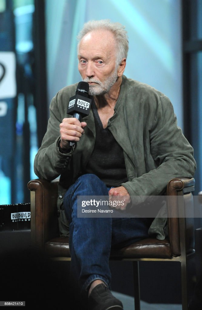 Actor Tobin Bell attends Build to discuss 'Jigsaw' at Build Studio on October 6, 2017 in New York City.