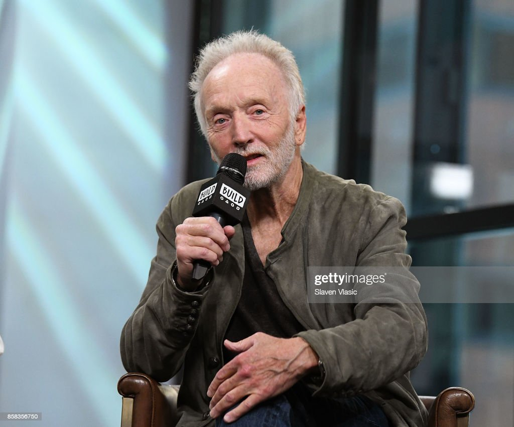 Actor Tobin Bell visits Build to discuss 'Jigsaw' at Build Studio on October 6, 2017 in New York City.