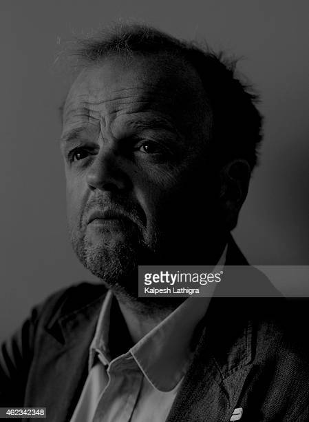 Actor Toby Jones is photographed for the Independent on September 2 2014 in London England