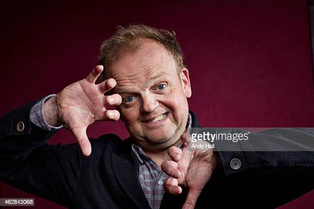 Actor Toby Jones is photographed for the Observer on May 13 2014 in London England