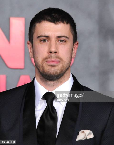 Actor Toby Kebbell arrives for the Premiere of Warner Bros. Pictures' 'Kong: Skull Island' at Dolby Theatre on March 8, 2017 in Hollywood, California.